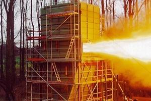 """<span class=""""bildunterschrift_hervorgehoben"""">2</span>Explosion test on a prototype of module designed CombiJet series"""