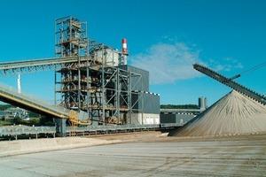 """<span class=""""bildunterschrift_hervorgehoben"""">21</span>Slag grinding plant with Loesche mill in Rouen, France (Loesche)<br />"""