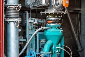 Multicor-Massendurchfluss-Messgerät von Schenck Process für PSP