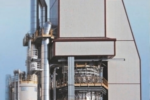 Ofen für 500&nbsp;t/d, dual-fired natural gas and sawdust for ­Fornaci Zulian<br /><br />
