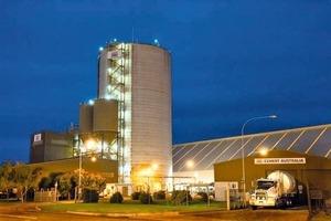 Townsville 36000t Zementsilo