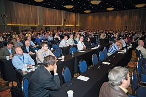 """<div class=""""bildunterschrift_en"""">Always well attended were the presentations and discussions at the event</div>"""