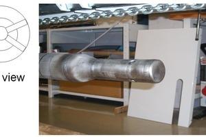 Probe 60S: design of the tip of the probe • Sonde 60S: Aufbau der Sondenspitze
