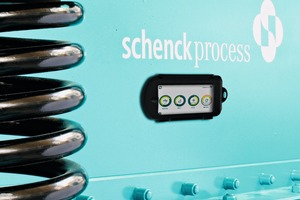 "<div class=""bildtext_en"">The Schenck Process vibe2know app: Easy measuring the performance of vibrating machines with a smartphone</div>"