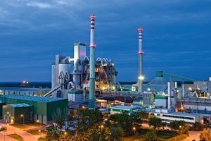 Modern Górazdze cement plant