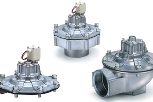 "<div class=""bildtext_en"">The newly dust filter valves from SMC Pneumatik are extremely flexible and can be used in any type of dust filter system and in any size of industrial unit</div>"