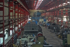 A view of the Indian company's production facilities