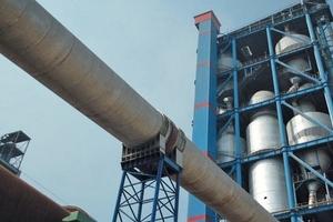 Zementwerk von China United