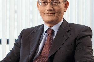 """<div class=""""bildtext_en"""">1 M. Şefik Tüzün, Chairman of the Board, Turkish Cement Manufacturers' Association</div>"""
