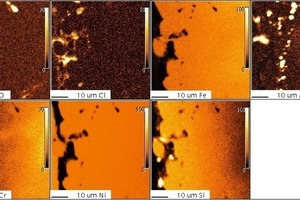 "<span class=""bildunterschrift_hervorgehoben"">11</span>2.4851, 200 h, 1000 °C, Cl2, microprobe<br />"