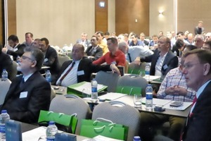 """<div class=""""bildtext_en"""">1 At the Loesche Seminar in Istanbul, around 100attendees found out about new features in the cement industry</div>"""