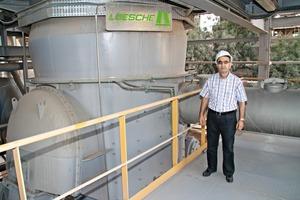 Projektleiter Radwan Mouakat