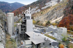 """<span class=""""bildunterschrift_hervorgehoben"""">1</span>Overall view of the Reuchenette cement plant after completion of Project 880 RO3<br />"""
