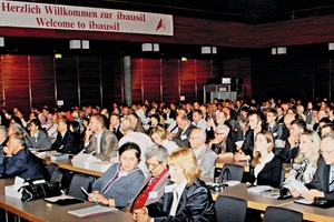 "<div class=""bildtext_en"">Scientists, industry representatives and interested parties from 40 countries attended the ibausil in 2012</div>"