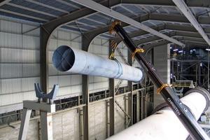 "<span class=""bildunterschrift_hervorgehoben"">7</span>Installation of the tertiary air duct during Phase2<br />"