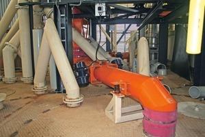 8Mogensen vibrating tubular conveyor<br />