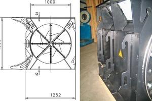 """<span class=""""bildunterschrift_hervorgehoben"""">3</span>Maintenance opening (ZSXXL1000x1200mm, overall height 1300 mm)<br />"""