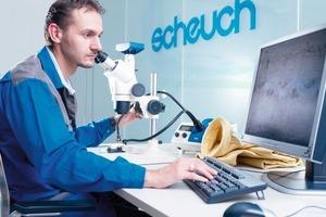 Schlauchanalyse im Scheuch-Labor(Foto Scheuch)<br />