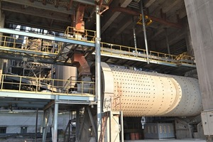 Zementmühle in Imlai