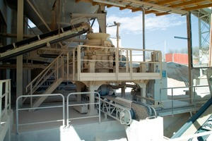 The Metso HP100 cone crusher<br />