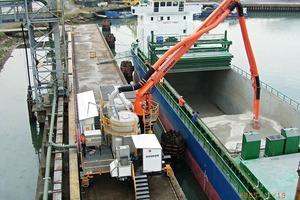 Pneumatischer Schiffsentlader