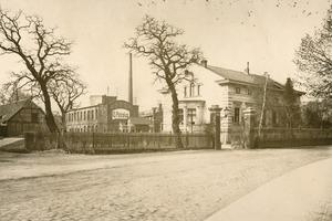 """<span class=""""bildunterschrift_hervorgehoben"""">2</span>G. Polysius iron foundry and engineering works in Dessau around 1870<br />"""