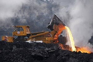 Ökologie statt Deponie– Aufbereitung von Stahlwerkschlacken zu hochreaktiven Zementkomponenten