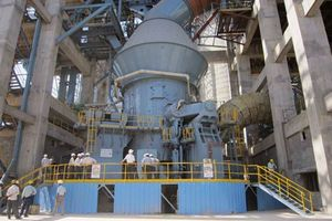 Vertical mill at Jaypee Balaji Cement<br />