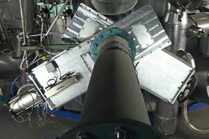 Multischieber FM L DN 250 handbetätigt/pneumatisch; Schüttgut Ersatzbrennstoff, TProdukt = 160°C