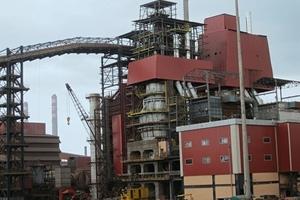 Twin shaft vertical kiln Cim-Reversy-RD15, 600t/day for JSW steel