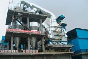 """<span class=""""bildunterschrift_hervorgehoben"""">17</span>AQC waste heat boiler in a Chinese cement plant"""