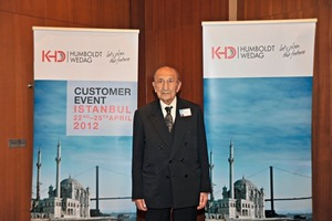 Sükrü Topsakal, der erste KHD-Vertreter in der Türkei<br />