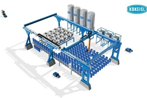 Bulk solids picking and dosing system<br />