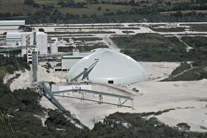 """<div class=""""bildtext_en"""">1 Exterior of the Apazapan dome inMexico</div>"""