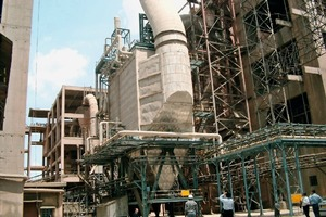 WHR system at India Cement