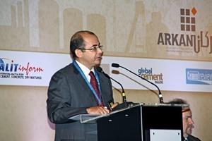 Tareq Samah zeichnete ein Bild der Zementproduktion in der Welt und in den VAE
