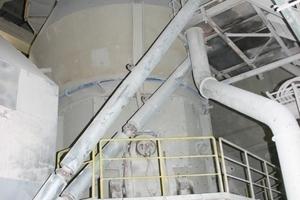 ONLINE+: Lösche raw mill • Lösche Rohmühle