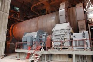 """<span class=""""bildunterschrift_hervorgehoben"""">8</span>World's largest ball mill at Nuh Cimento (FLSmidth)<br />"""