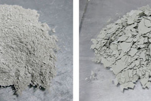 """<span class=""""bu_ziffer_blau"""">1</span> Appearance of the cement samples that had been exposed to moisture after storage for a) 1 day and b)&nbsp;3&nbsp;days"""