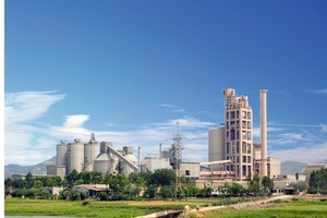 Vicem's Hoang Mai cement plant<br />