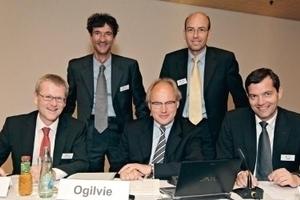 Werner Fuchs, Moritz Iseke, Martin Ogilvie, Udo Kremer, Michael Liell (from left, v.l.)