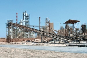 Raysut cement plant in Oman