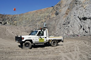 """<div class=""""bildtext_en"""">I-Site<sup>™</sup> Drive provides a continuous survey solution for fast, frequent stockpile volume reporting</div>"""