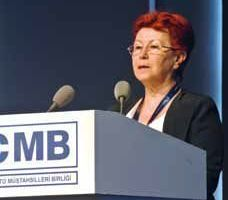Ms. Çağlan Becan expressed her warm welcome<br />and guided through the 12th TÇMB International<br />Technical Seminar in Antalya/Turkey<br />