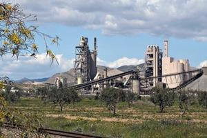 """<span class=""""bildunterschrift_hervorgehoben"""">21</span>Cement plant in d'Enfidha • Zementwerk d'Enfidha"""