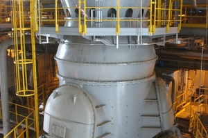 A Loesche VRM type 28.3D in Gheco/Thailand