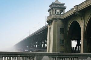 Erste Brücke über den Jangtse in Wuhan<br />