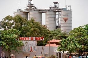Cimtogo plant in Togo/Africa<br />