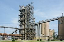 The Lafarge cement plant in Karsdorf (Saxony-Anhalt)