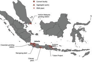 Holcim Indonesia activities (Source: Holcim)<br />